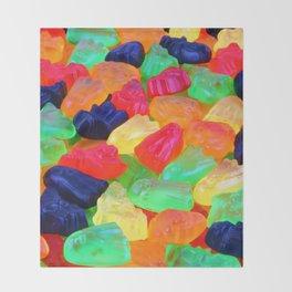 Spooky Gummyz Throw Blanket