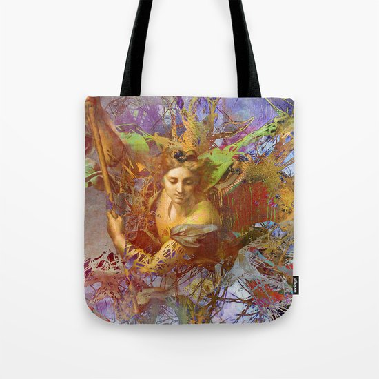 St Michael Tote Bag