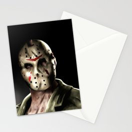 Jason Friday the 13th Stationery Cards