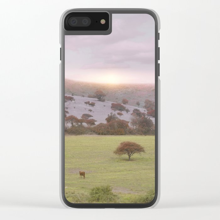 Spring Mood II Clear iPhone Case