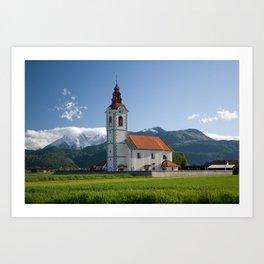 Church of saint John Art Print