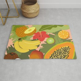 Tropical Fruits Rug