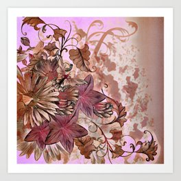Floral Flourish Art Print
