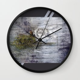 Eye of the Barn Wall Clock
