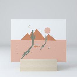 High Desert Shadows Mini Art Print