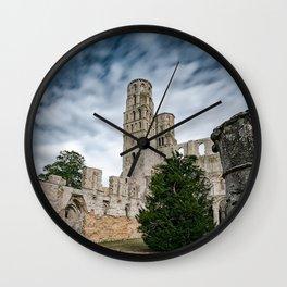 Abbaye De Jumieges 3 Wall Clock