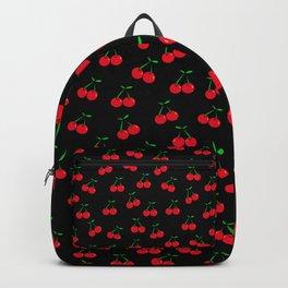 Cherries 2 (on black) Backpack