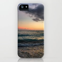 Waikiki Beach at Dusk Sunset iPhone Case