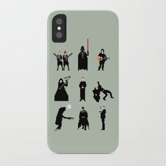 Men in Black iPhone Case
