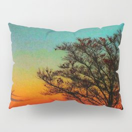 Turquoise Sunset Pillow Sham
