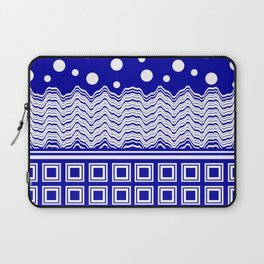 The Cruise - Blue and White Laptop Sleeve