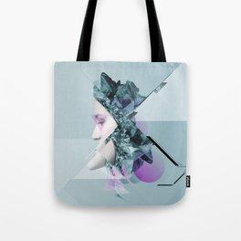 Faces Blue 03 Tote Bag