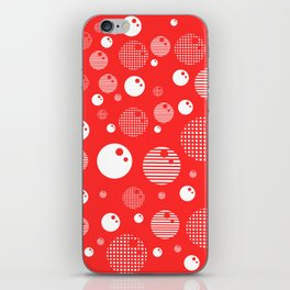 Bubblemagic - Red iPhone Skin