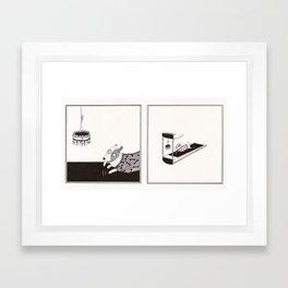 Cake Love Framed Art Print