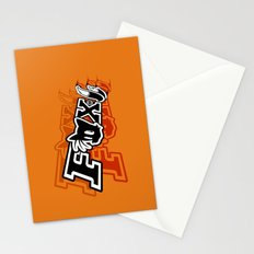 Two-Tailed Fox Stationery Cards