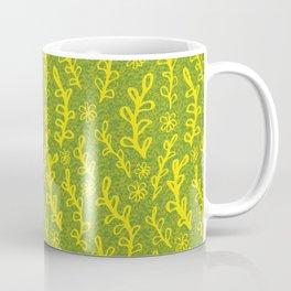 sprouting plants pattern Coffee Mug
