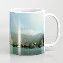 Hawaii Double Rainbow Coffee Mug