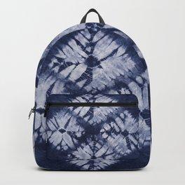 Denim Tie Dye Backpack