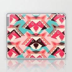 Raccoons and hearts Laptop & iPad Skin