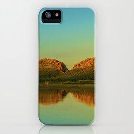 Reflections of Elephant Rock iPhone Case