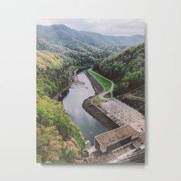 Fontana Dam • Appalachian Trail Metal Print