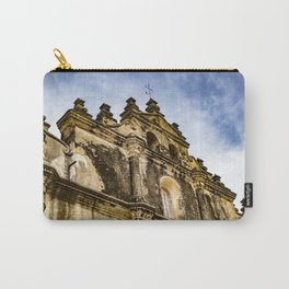 View of the Top of the Catholic Church Iglesia La Merced, Granada, Nicaragua Carry-All Pouch