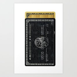 Amex in your hand - phone case / beach towel Art Print