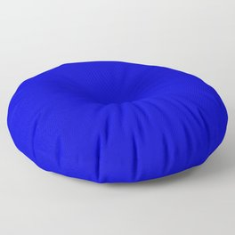 Medium Blue - solid color Floor Pillow