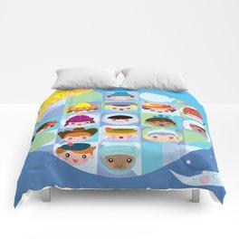 small world Comforters