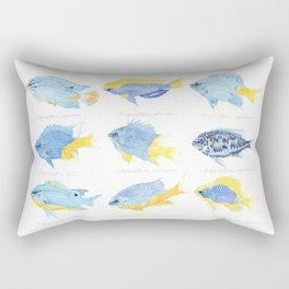 Genus Chrysiptera Rectangular Pillow