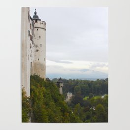A view from Festung Hohensalzburg II Poster