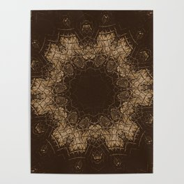 Sequential Baseline Mandala 35 Poster