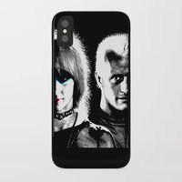 blade runner iPhone & iPod Cases featuring Blade Runner Nexus 6 by PsychoBudgie