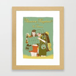 Moonrise Kingdom Poster Framed Art Print
