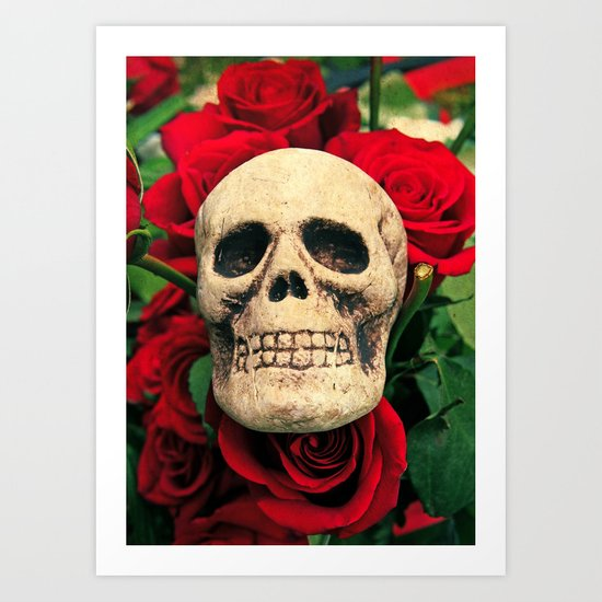 Love and death Art Print