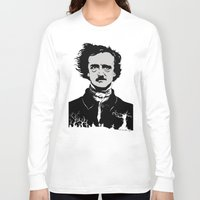 poe Long Sleeve T-shirts featuring POE by Eric Thorpe-Moscon Designs