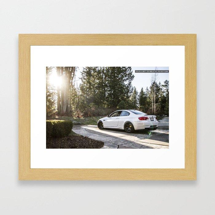 E92 M3 Framed Art Print