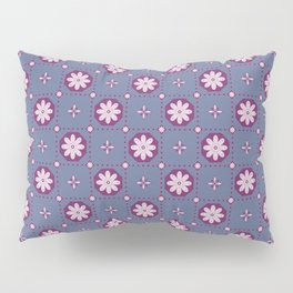 Razzle Dazzle Flower Power Floral Seamless Pattern Pillow Sham