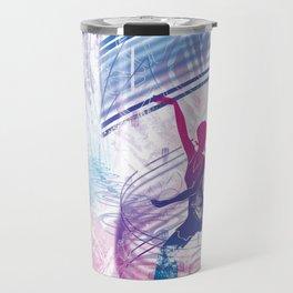 urban flow :: wand dance Travel Mug