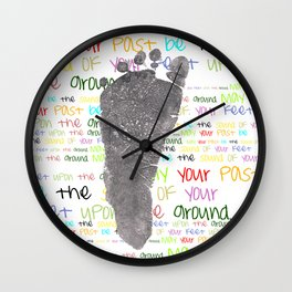 May your past Wall Clock