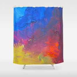 The Inquisitive Dreamer of Dreams Shower Curtain