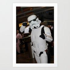 D*Con: Stormtrooper Art Print