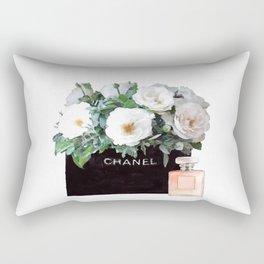 Fahion floral bag print Rectangular Pillow