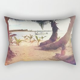 Beach Island Refuge Rectangular Pillow