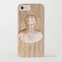mozart iPhone & iPod Cases featuring Mozart by Arts and Herbs