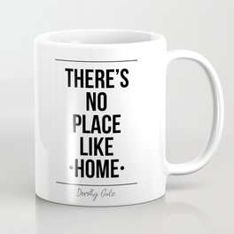 There's No Place Like Home Printable Wall Coffee Mug