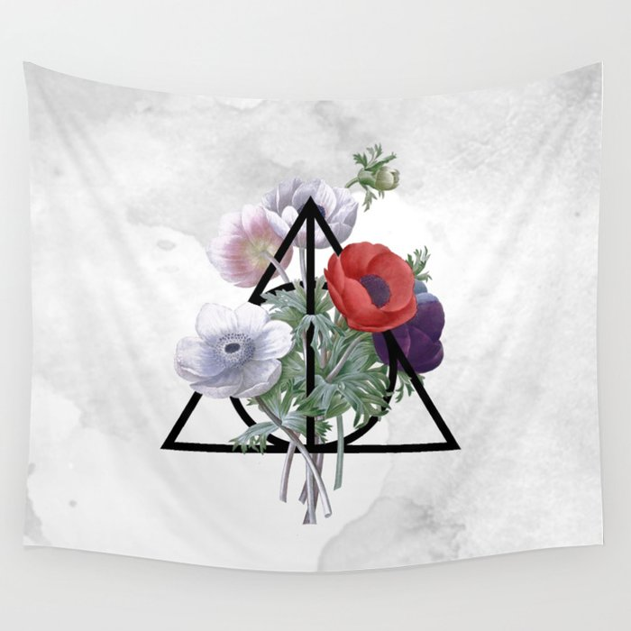 Deathly Hallows Wall Tapestry