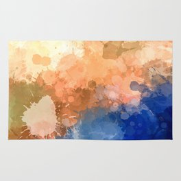 """Modern Contemporary """" Tranquility""""Abstract Rug"""