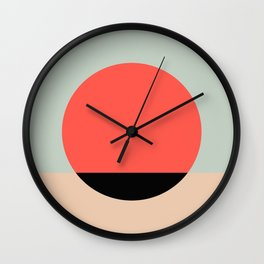 Relaxing graphic Wall Clock