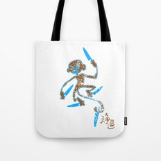 kitchen monkey Tote Bag